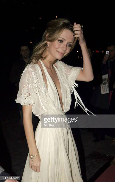 Mischa Barton during ELLE Style Awards 2006 After Party at Atlantis Gallery Old Truman Brewery in London Great Britain