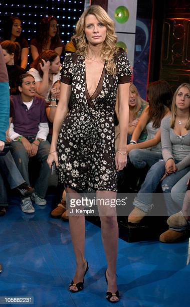 Mischa Barton during Mischa Barton and Tyrese Visit MTV's 'TRL' January 25 2006 at MTV Studios in New York City New York United States