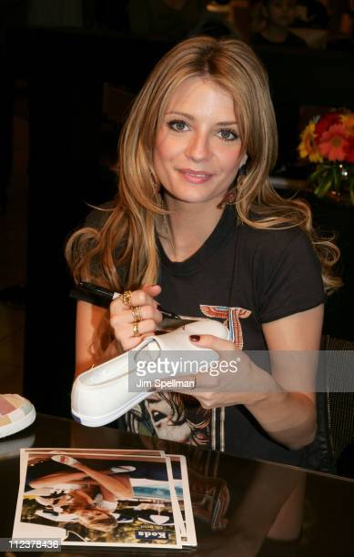 Mischa Barton during Mischa Barton Makes a Personal Appearance at Nordstrom Garden State Plaza on Behalf of Keds at Nordstrom in Garden State New...