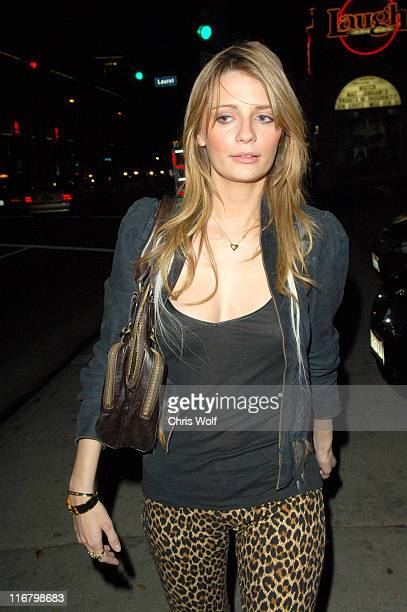 Mischa Barton during Mischa Barton Sighting on Sunset Boulevard February 20 2007 in West Hollywood California United States