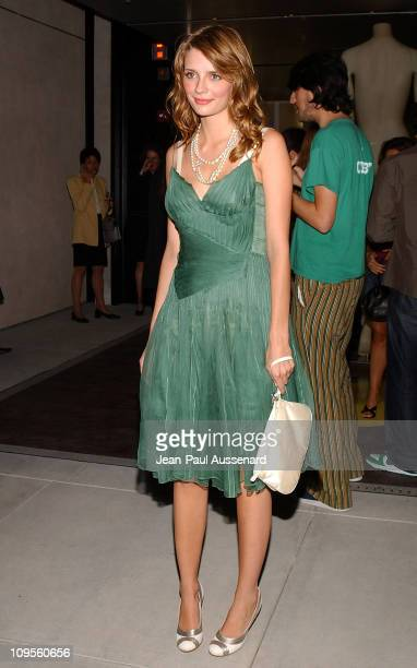 Mischa Barton during Prada Opens Beverly Hills Epicenter Arrivals at Rodeo Drive in Beverly Hills California United States