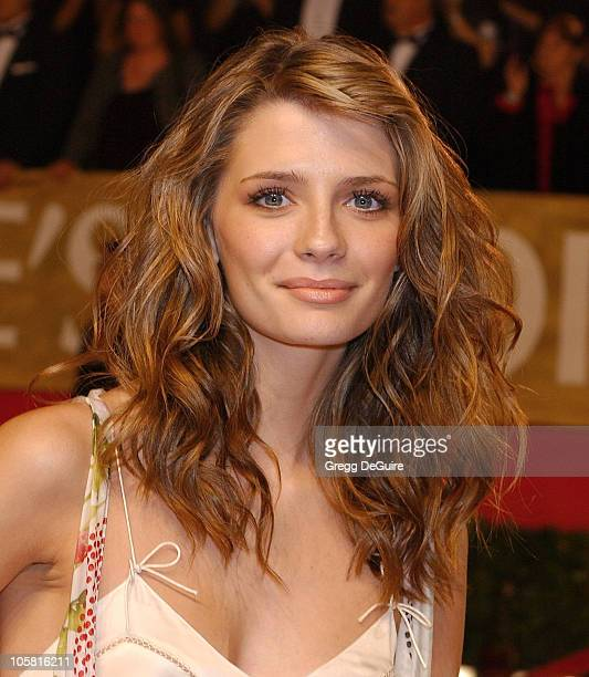 Mischa Barton during The 30th Annual People's Choice Awards Arrivals at Pasadena Civic Auditorium in Pasadena California United States
