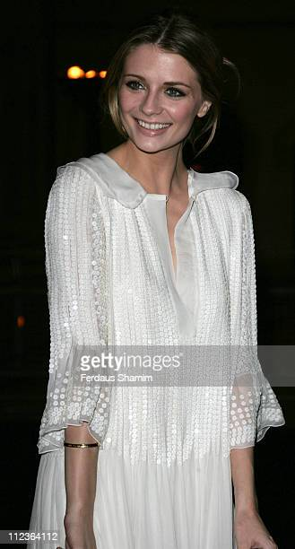 Mischa Barton during The Diner des Tsars Arrivals at Guildhall in London Great Britain