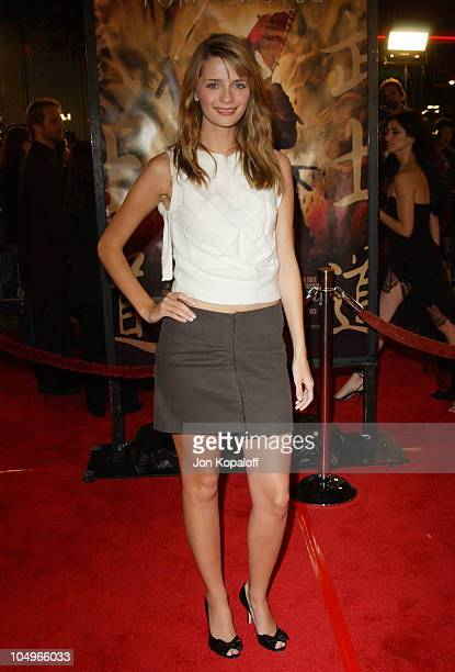 Mischa Barton during 'The Last Samurai' Los Angeles Premiere at Mann's Village Theater in Westwood California United States