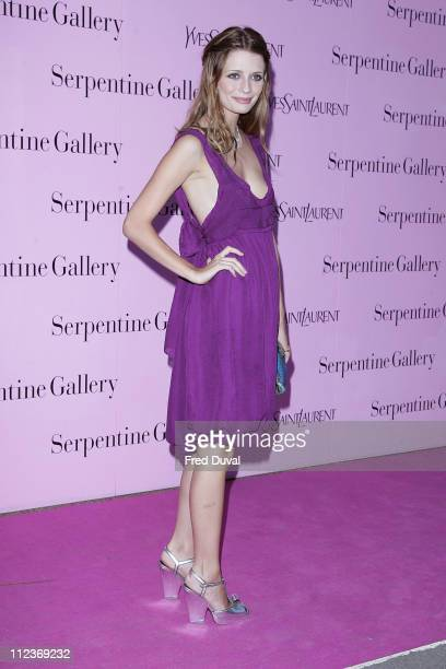Mischa Barton during The Serpentine Gallery Summer Party Outside Arrivals at The Serpentine Gallery in London Great Britain
