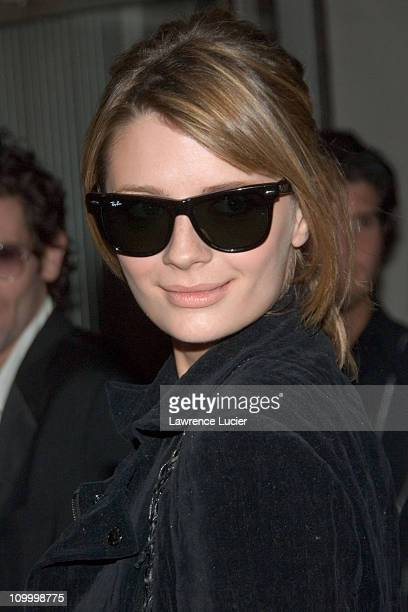 Mischa Barton during Uncut: The Ray-Ban Wayfarer Sessions - Outside Arrivals - November 15, 2006 at Irving Plaza in New York City, New York, United...