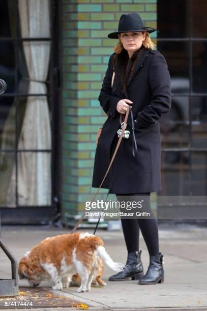 Mischa Barton is seen on November 14 2017 in New York City