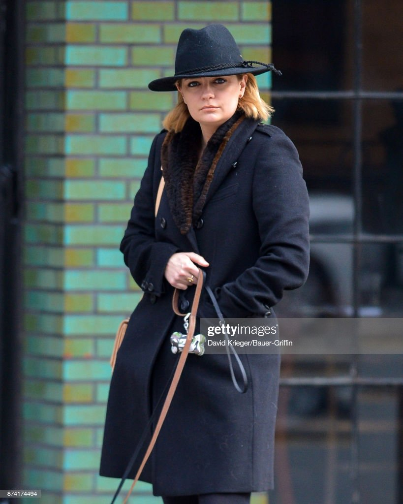 Celebrity Sightings in New York City - November 14, 2017