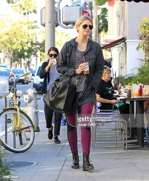 Mischa Barton is seen on November 20 2015 in Los Angeles California