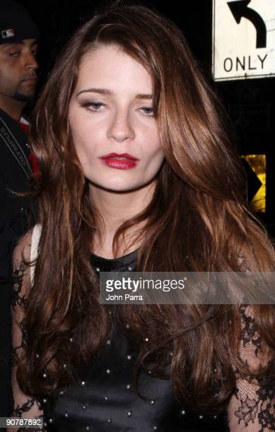 Mischa Barton is seen on the streets of Manhattan on September 14 2009 in New York City