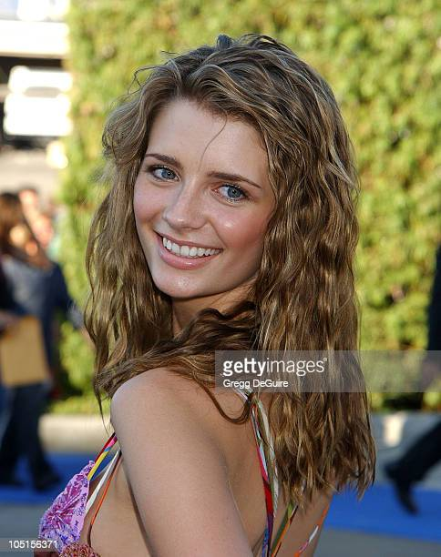 Mischa Barton of The OC during 2003 Teen Choice Awards Arrivals at Universal Amphitheatre in Universal City California United States