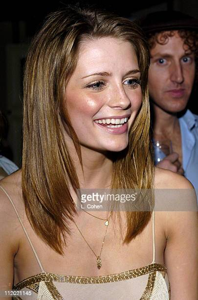 Mischa Barton of The OC during Fox 2004 Fall Lineup After Party at Central in Los Angeles California United States