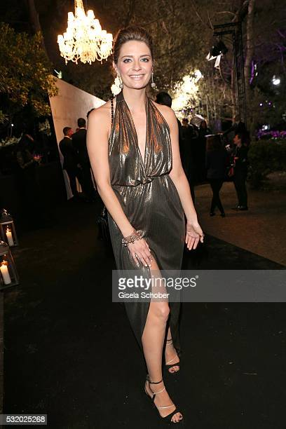 Mischa Barton wearing a dress by Siran during the 'De Grisogono' Party at the annual 69th Cannes Film Festival at Hotel du CapEdenRoc on May 17 2016...
