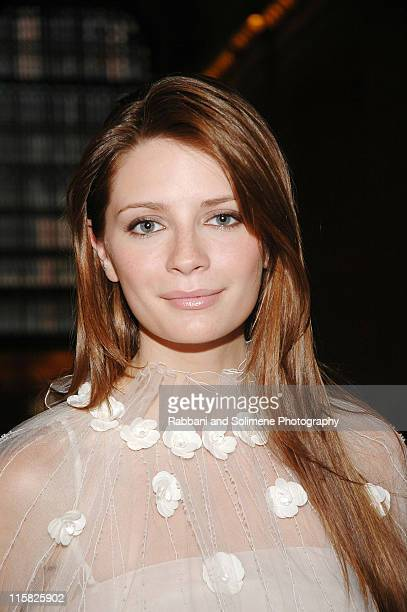 Mischa Barton wearing Chanel during Chanel Presents the 2006/2007 Cruise Collection Inside at Grand Central Terminal in New York City New York United...