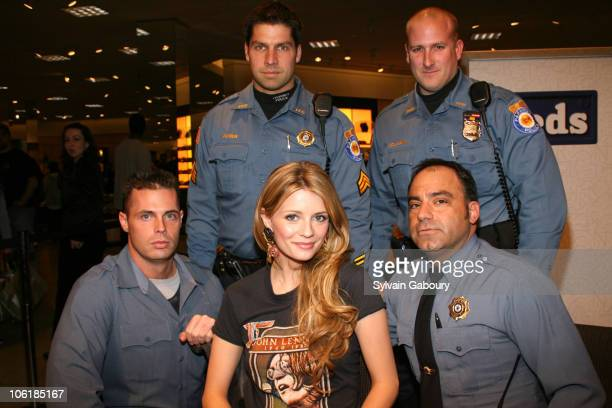 Mischa Barton with Security during Mischa Barton In-store Appearance at Nordstrom at Nordstrom at Garden State Plaza in Paramus, New Jersey, United...