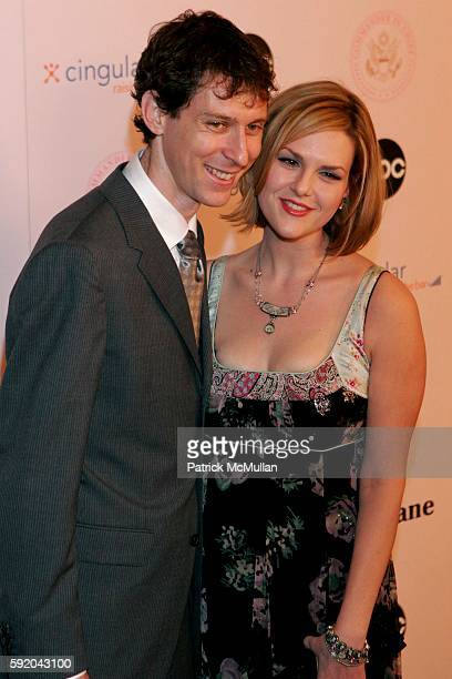 Mischa Livingstone and Sara Rue attend 'CommanderInChief' Inaugural Ball and Premiere Screening at Regent Beverly Wilshire Hotel on September 21 2005...