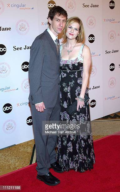 Mischa Livingstone and Sara Rue during CommanderinChief Inaugural Ball and Premiere Screening at Regent Beverly Wilshire in Beverly Hills California...
