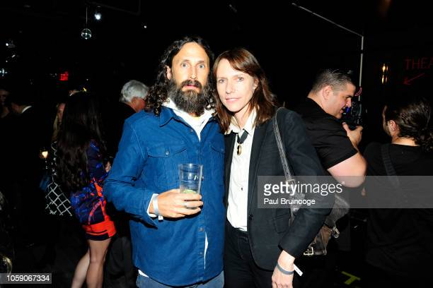 Mischa Richter and Dolly Wells attend Opening Of CMX CineBistro With Special Screenings Of BlacKkKlansman, City Lights & Pretty Baby at CMX...