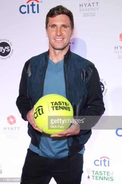 Mischa Zverev attends the Citi Taste Of Tennis Indian Wells on March 04, 2019 in Indian Wells, California.