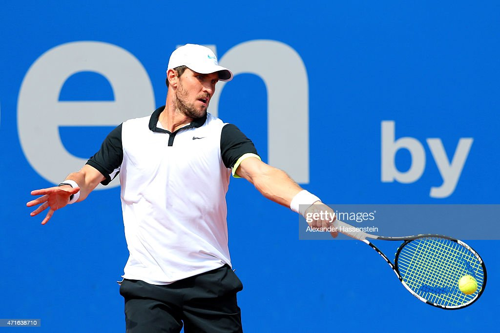 Andy Murray v Mischa Zverev - BMW Open 2015 : News Photo