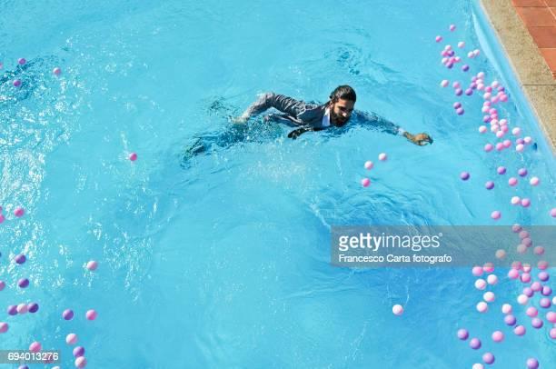 Mischief in the pool