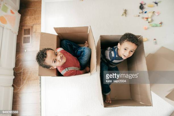 mischievous children on a weekend - brother stock pictures, royalty-free photos & images