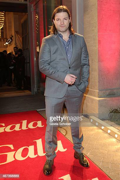 Misel Maticevic attends the Berlin Opening Night Of Gala & Ufa Fiction during the 64th Berlinale International Film Festival at Hotel Das Stue on...
