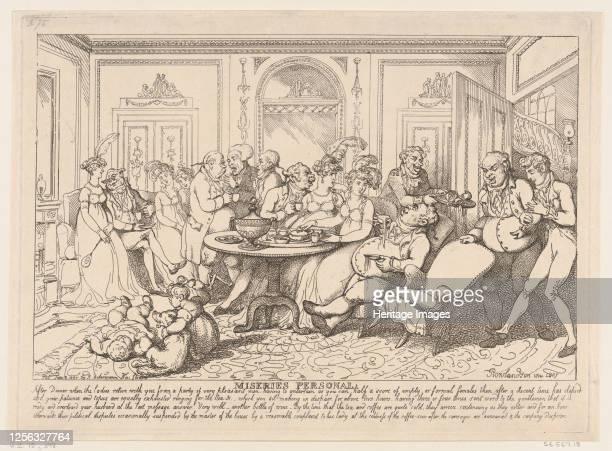 Miseries Personal June 12 1807 Artist Thomas Rowlandson