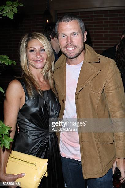 Misha Anderson and Bill Powers attend CITY MAGAZINE Celebrates 50th Issue at Soho Grand Hotel Courtyard on August 22 2007 in New York City