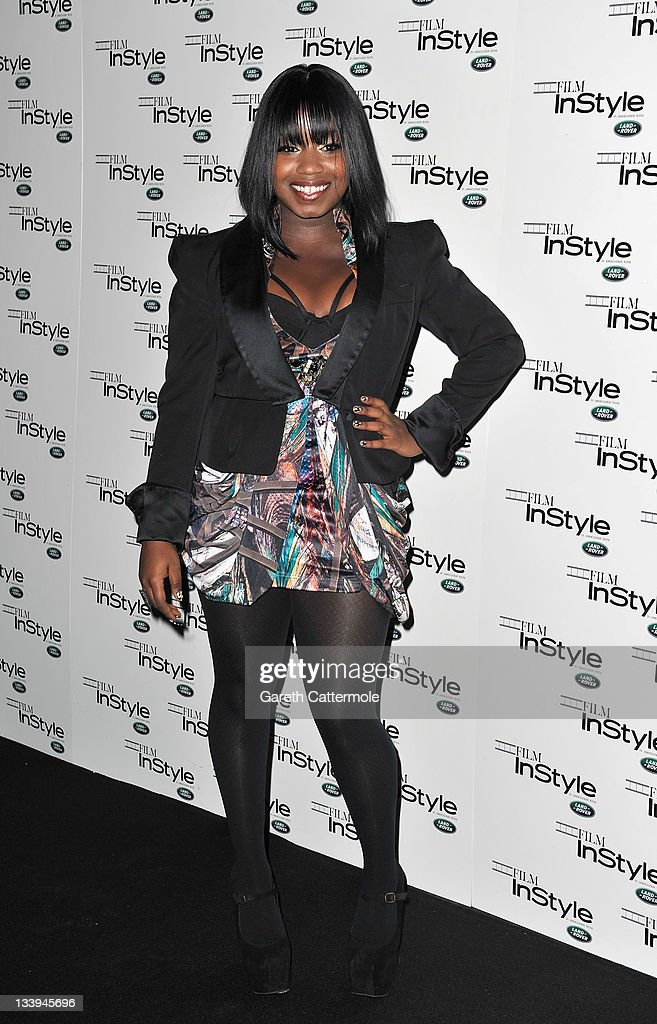Misha B arrives at 'Film InStyle' in association with Land Rover celebrating InStyle Magazine's 10th Anniversary at The Sanctum Soho Hotel on November 22, 2011 in London, England.