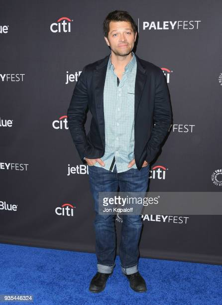 Misha Collins attends the 2018 PaleyFest Los Angeles CW's 'Supernatural' at Dolby Theatre on March 20 2018 in Hollywood California