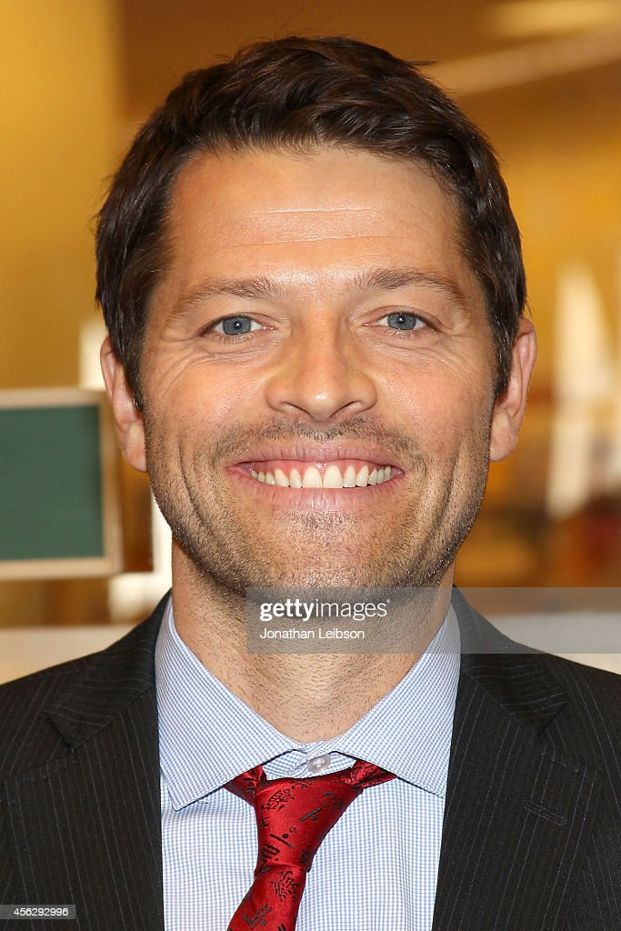 Misha Collins attends the Matthew Thomas And Misha Collins Sign And Discuss Their New Book 'We Are Not Ourselves' at Barnes & Noble bookstore at The Grove on September 28, 2014 in Los Angeles, California.