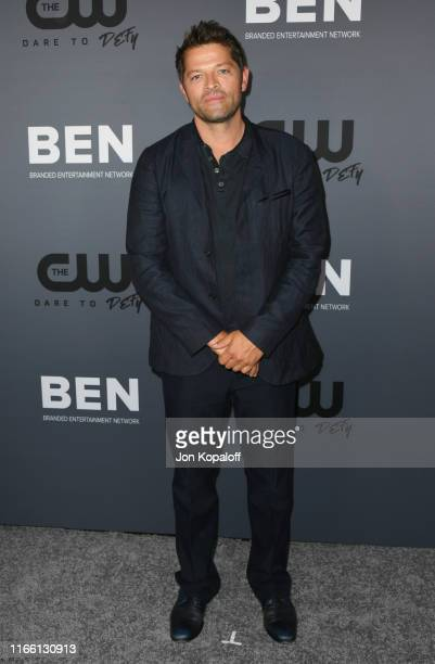 Misha Collins attends the The CW's Summer 2019 TCA Party sponsored by Branded Entertainment Network at The Beverly Hilton Hotel on August 04 2019 in...