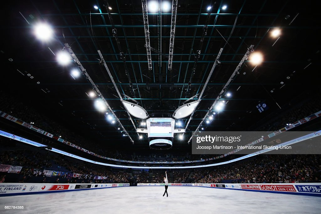 World Figure Skating Championships - Helsinki Day 4