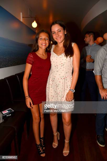 Misha Gelman and Jamie Gelman attend Michael Gelman Celebrates The Launch Of CLASS MOM A Novel By Laurie Gelman at Loi Estiatorio on July 26 2017 in...