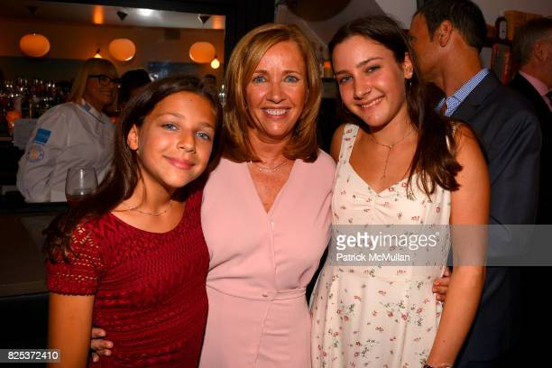 Misha Gelman Laurie Gelman and Jamie Gelman attend Michael Gelman Celebrates The Launch Of CLASS MOM A Novel By Laurie Gelman at Loi Estiatorio on...