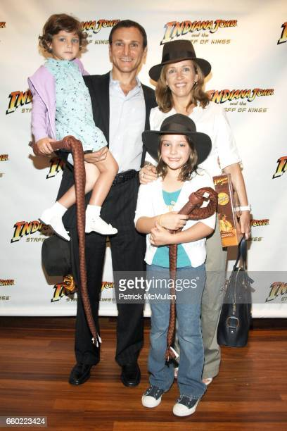 Misha Gelman Michael Gelman Jamie Gelman and Laurie Gelman attend PreRelease Party for LucasArts New Videogame INDIANA JONES and The STAFF OF KINGS...