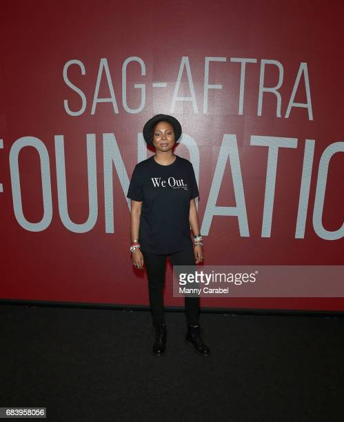 Misha Green attends SAGAFTA Foundation Coversations with Aisha Hinds Alano Miller Amirah Vann and DeWanda Wise of 'Underground' at SAGAFTRA...