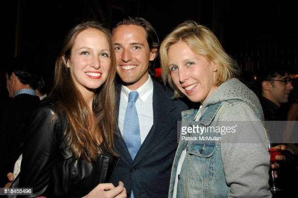 Misha Nonoo Alexander Gilkes and Lauren Goodman attend DOUGLAS HANNANT and AVENUE Celebrate The New Decade at The Plaza Hotel on January 12 2010 in...