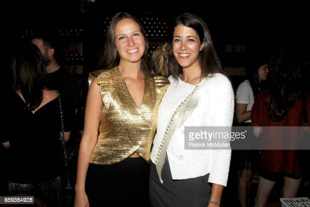 Misha Nonoo and Deborah Lyons attend Maybelline New York Color Sensational Presents 'Who What Wear' Book Launch at Gemma on September 13 2009 in New...