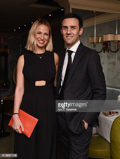 Misha Nonoo and Olivier Fremont attend the Christofle and Kate Bosworth Celebrate the Launch of Idole de Christofle The Brand's FirstEver Gold...