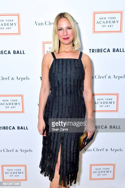 Misha Nonoo attends the New York Academy of Art Tribeca Ball Honoring Will Cotton at New York Academy of Art on April 3 2017 in New York City