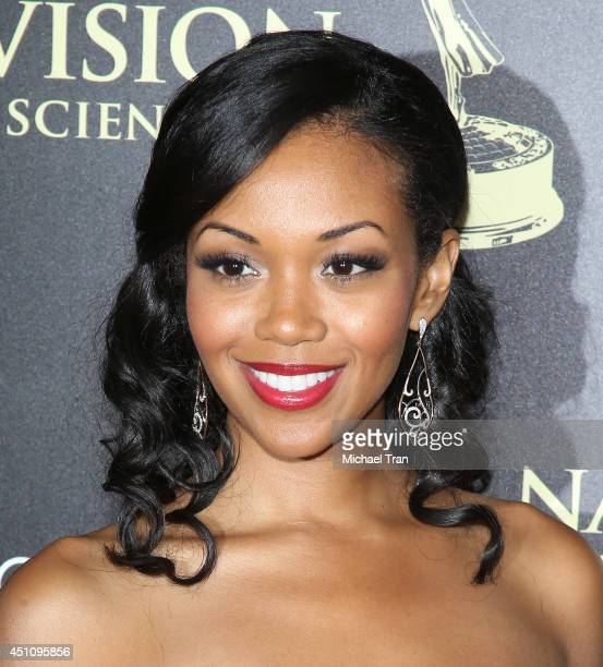 Mishael Morgan arrives at the 41st Annual Daytime Emmy Awards held at The Beverly Hilton Hotel on June 22 2014 in Beverly Hills California