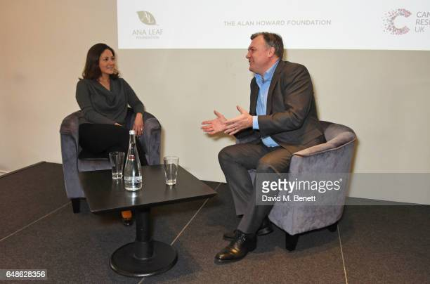 Mishal Husain and Ed Balls attend the 'Turn The Tables' lunch hosted by Tania Bryer and James Landale in aid of Cancer Research UK at BAFTA...