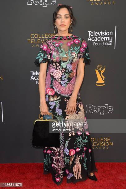 Mishel Prada attends The Television Academy Foundation's 39th College Television Awards at Wolf Theatre on March 16 2019 in North Hollywood California