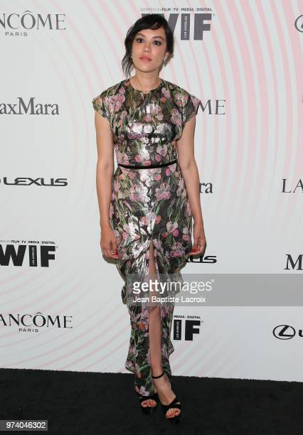 Mishel Prada attends the Women In Film 2018 Crystal Lucy Awards at The Beverly Hilton Hotel on June 13 2018 in Beverly Hills California