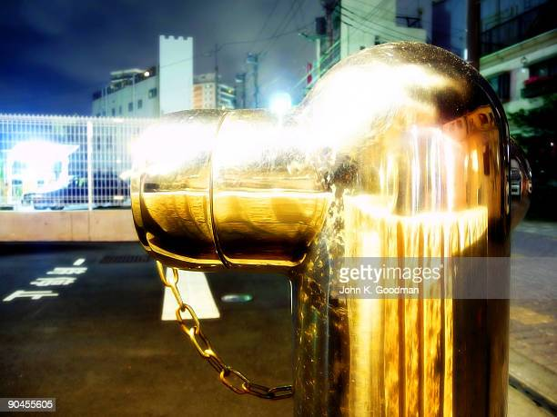 mishima city · fire hydrant - long exposure - mishima city stock photos and pictures