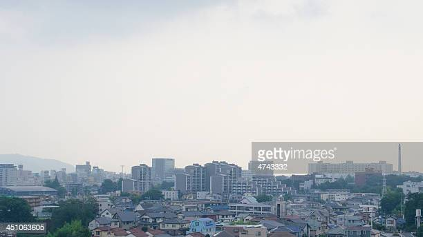mishima city,  shizuoka, japan - mishima city stock photos and pictures