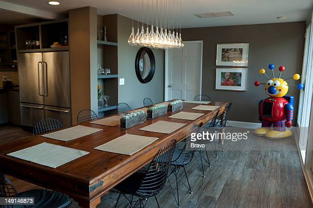 LEWIS 'Mismatched' Episode 108 Pictured Dining room after renovation