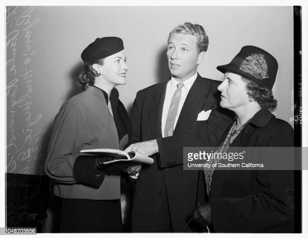 Misrepresentation suit 30 January 1952 Barbara BrittonDoctor Eugene J Czukor Paula Raymond G Bentley Ryan Mrs Mazie G Wright